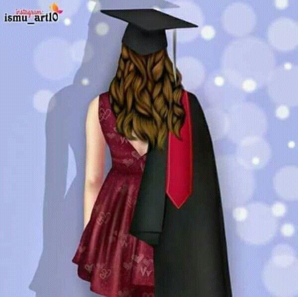 Pin By Zainab Ahmed On Girly M Graduation Girl Graduation Art Illustration Fashion Design