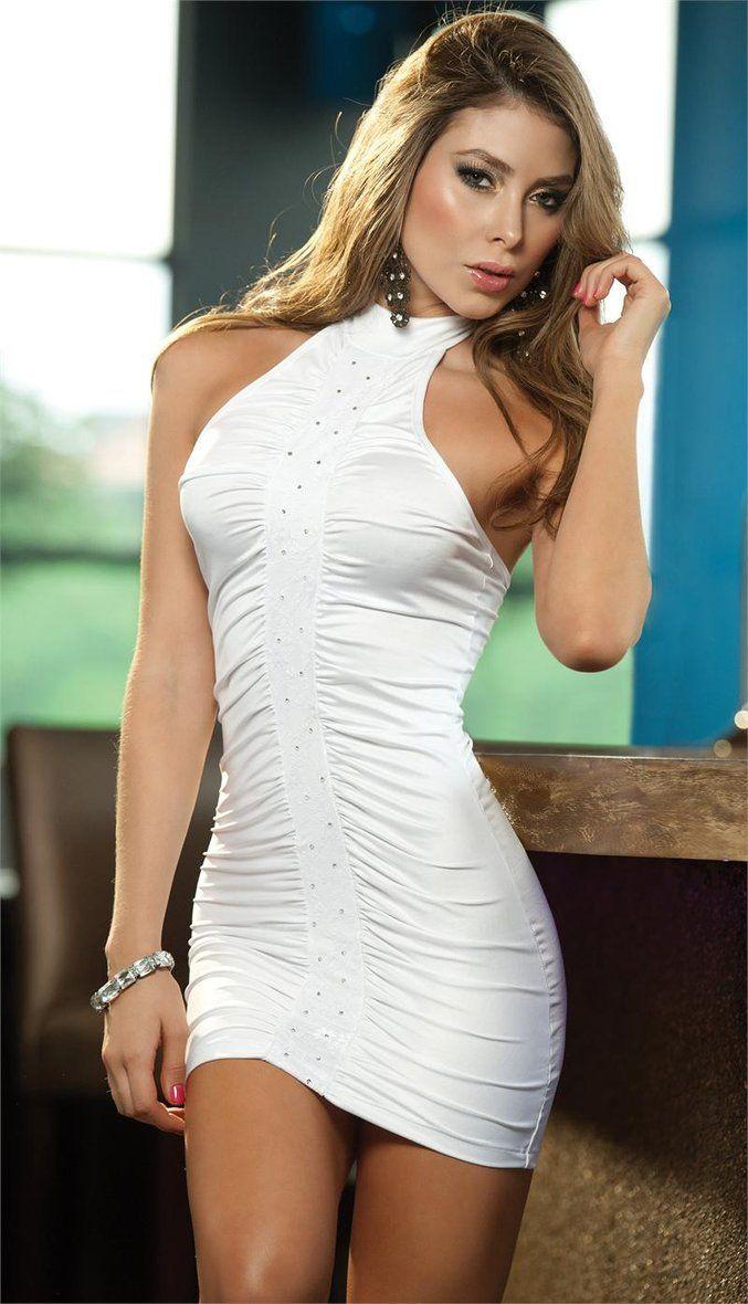 Mini White Dress | Mini Dresses | Pinterest | Minis, Dresses and ...