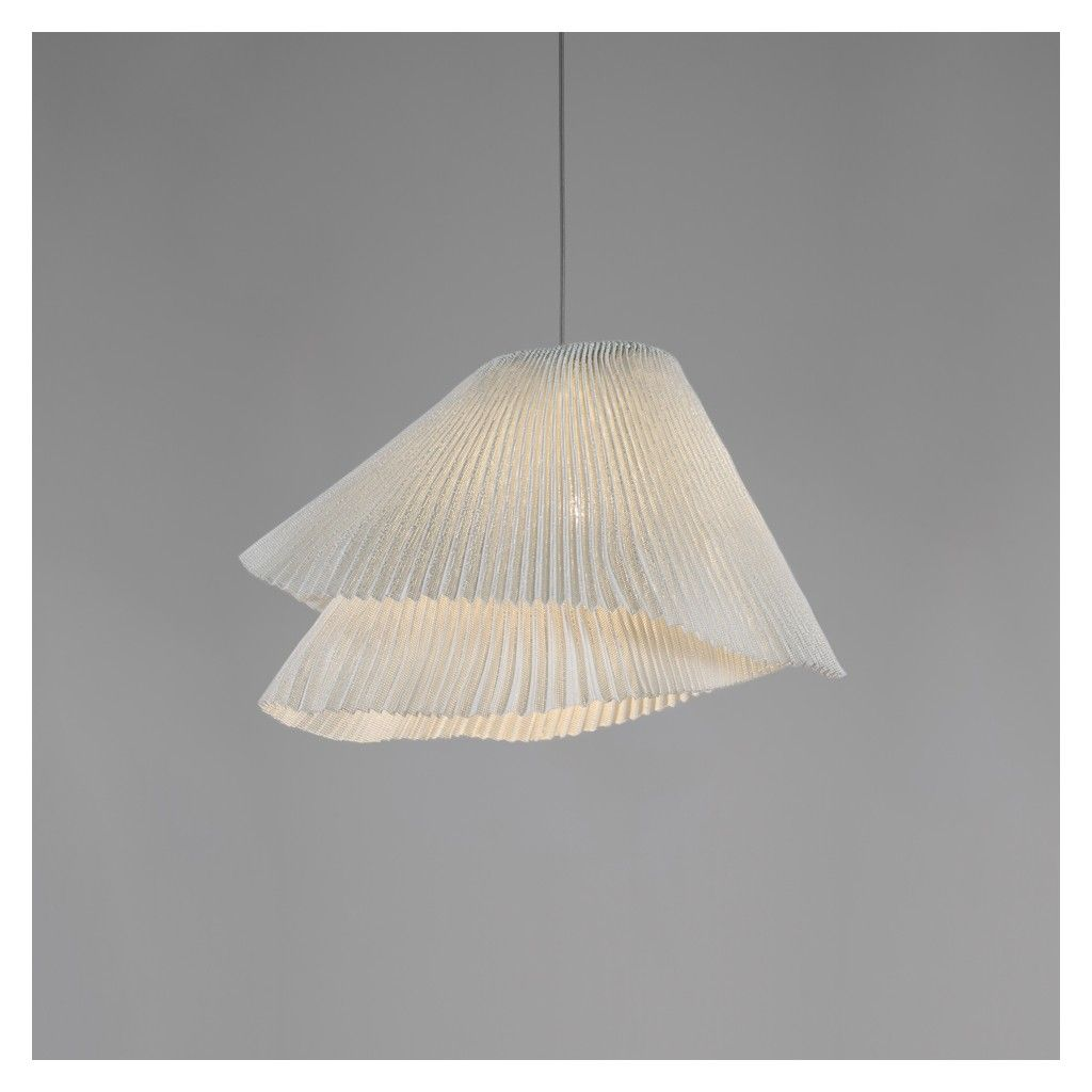 Suspension Tempo Vivace blanche Suspensions Luminaire Meuble