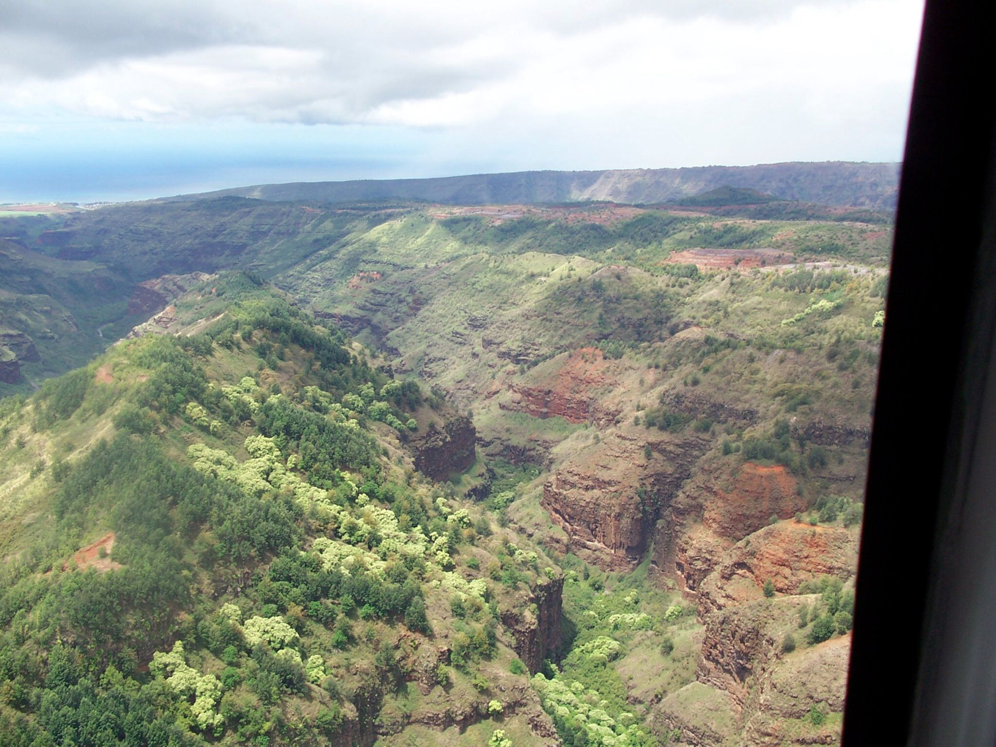 Kauai by helicopter... Worth seeing