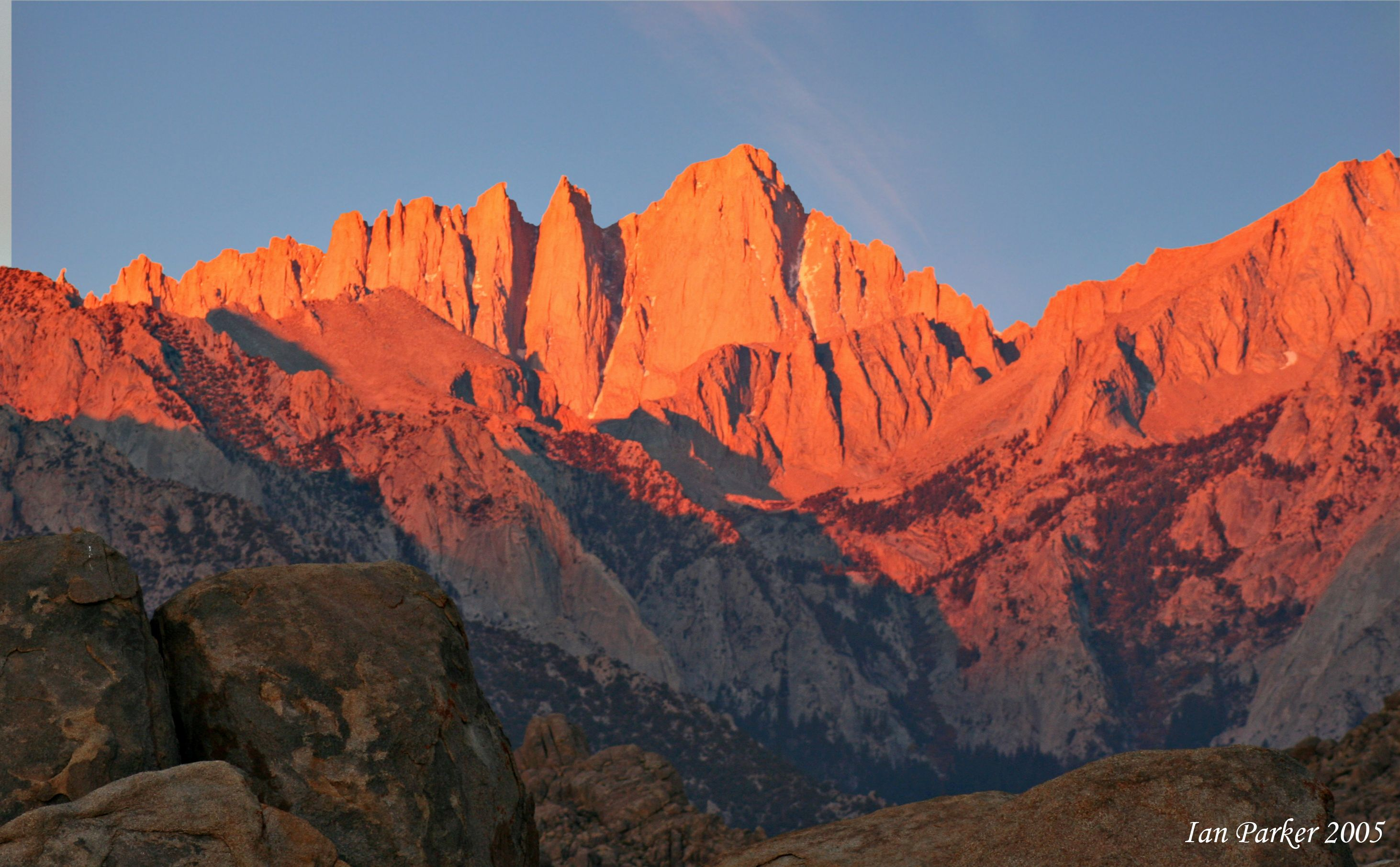 Mt Whitney CA The Highest Point In The Continental United - Map of the highest points in the us
