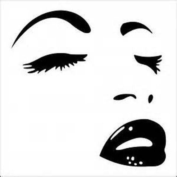 Pretty Face Decal/ Window Decal By Adsforyou On Etsy, $3