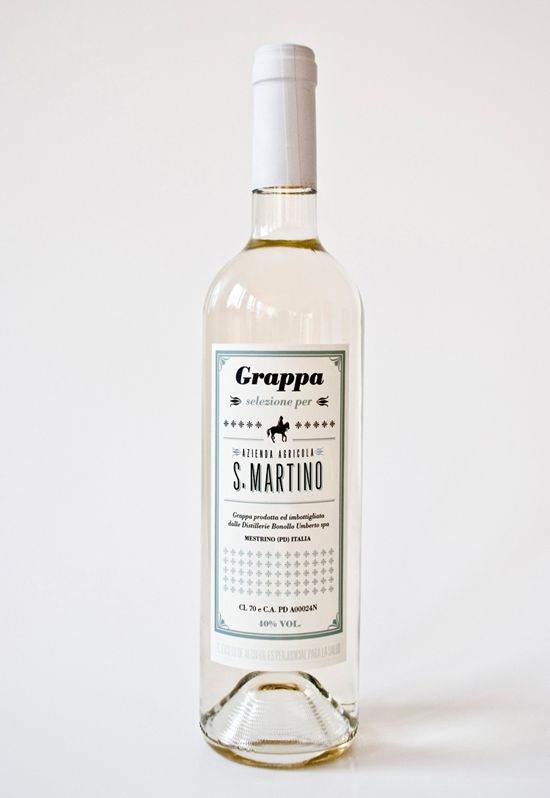 San Martino Grappa wine. Feels like new york bottled in Italy.