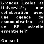 Ecoles et Universités, une collaboration avec une agence de communication et de RP est-elle essentielle ?