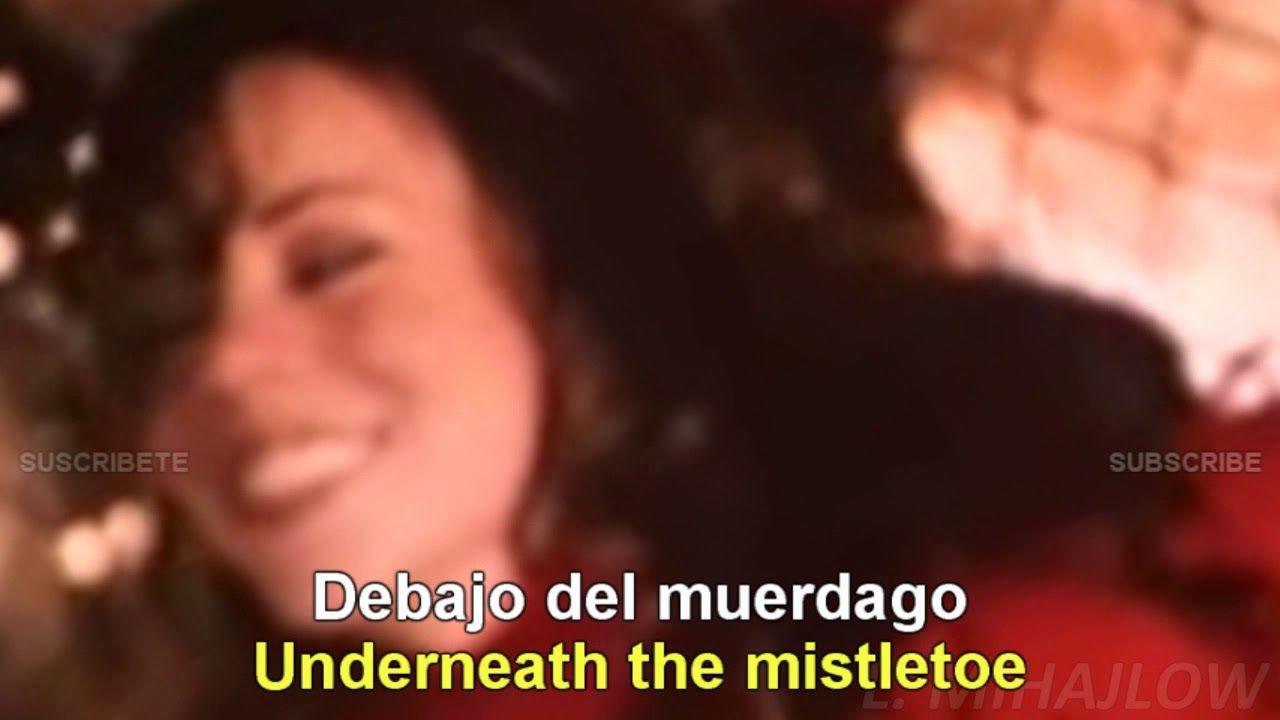 Mariah Carey All I Want For Christmas Is You Lyrics English Espanol Espanol Musica