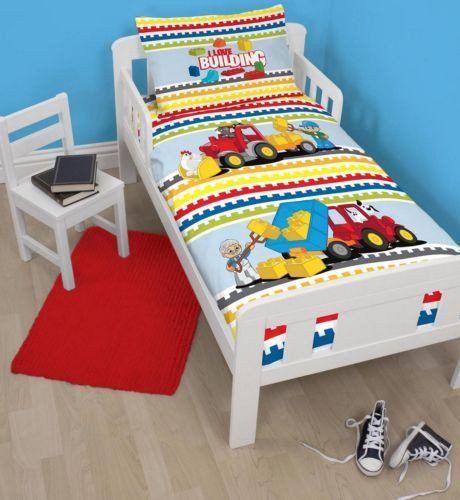 Lego Duplo Junior Cot Quilt Cover Toddler Bed Duvet Cot Bed Duvet Toddler Cot