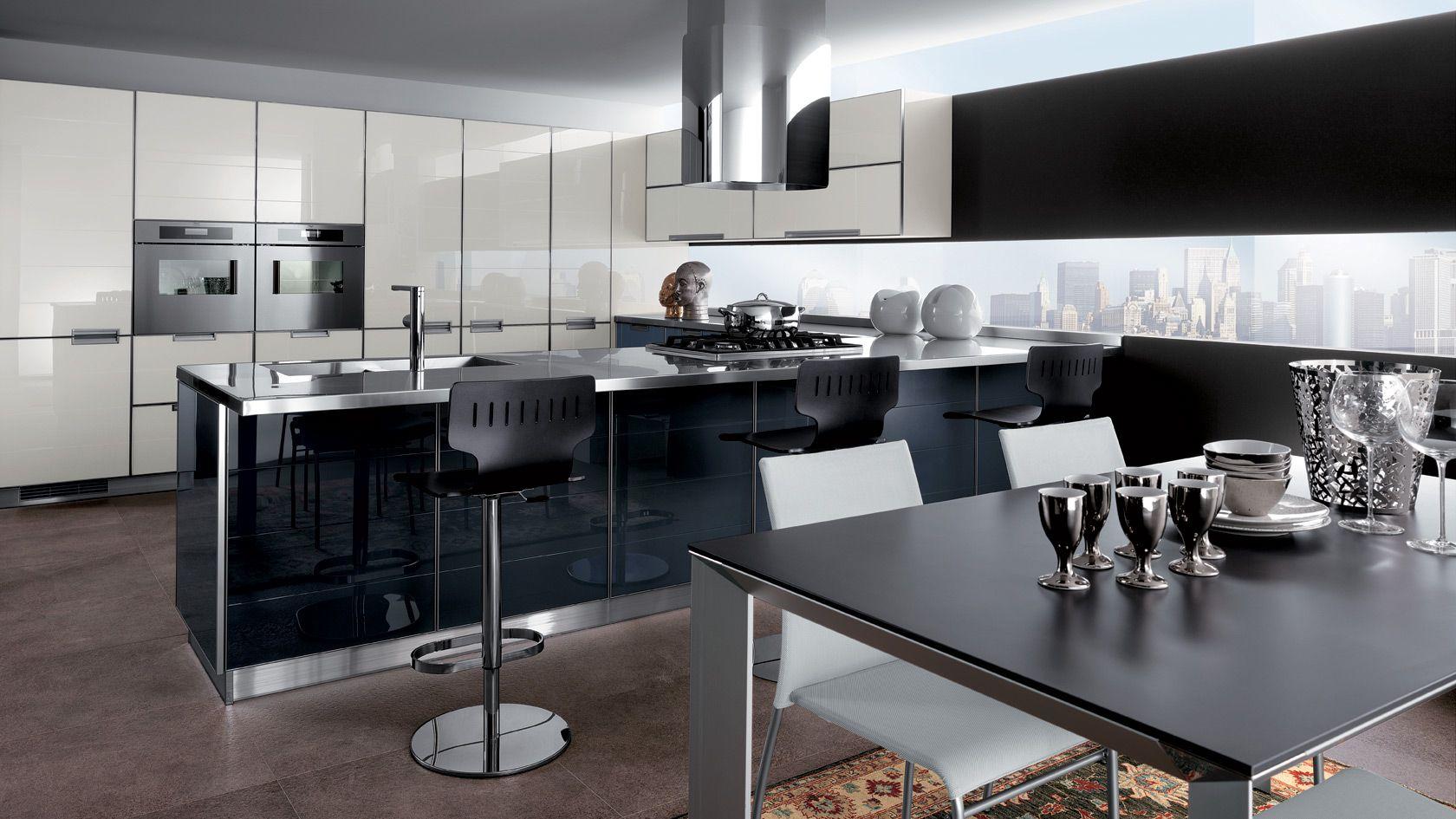 Cucina Crystal | Sito ufficiale Scavolini | Kitchen | Pinterest