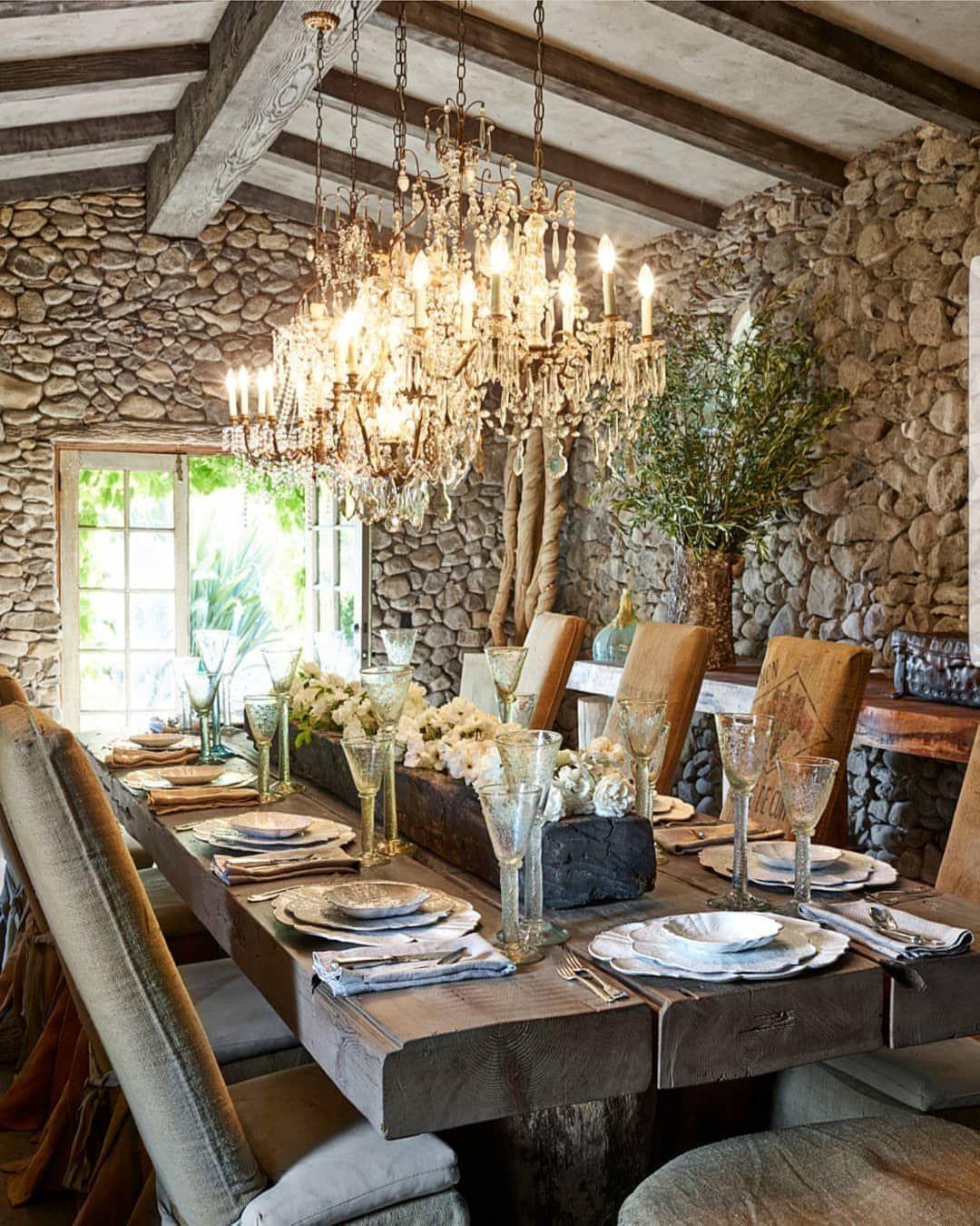 12 Rustic Dining Room Ideas: @thearmanihouse #byarmanihome #art #amazing #sun #travel