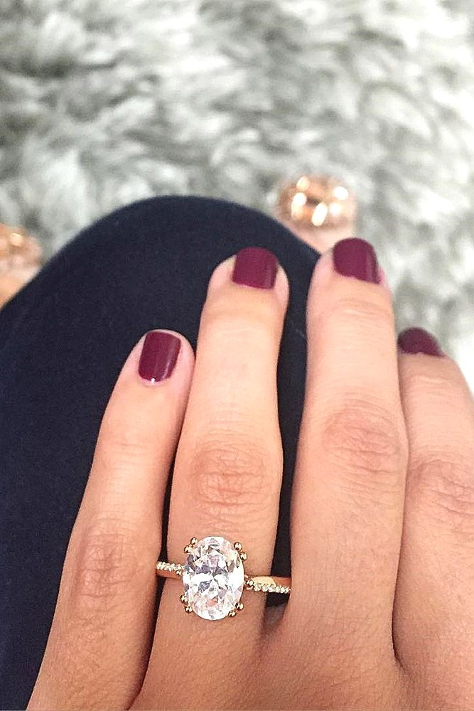 Rose Gold Engagement Rings Have A Feminine And Romantic Look These Rings Is A Fantastic Choice F Wedding Rings Engagement Rose Gold Engagement Ring Engagement