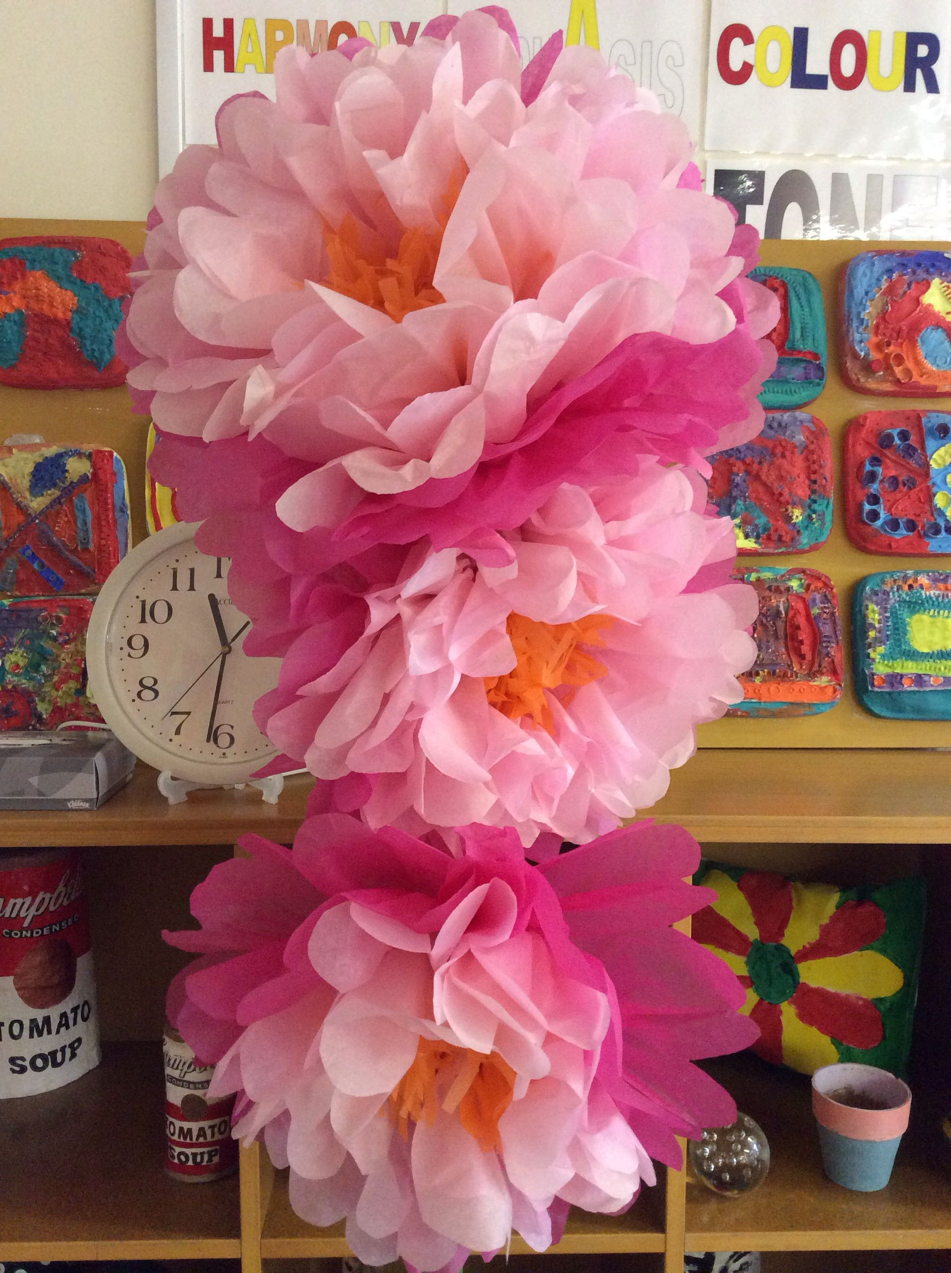 Tissue paper flowers party time paper flowers pinterest tissue paper flowers mightylinksfo