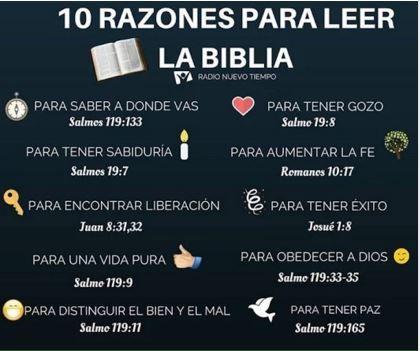 Frases Cristianas Razones Para Leer La Biblia Faith Bible God