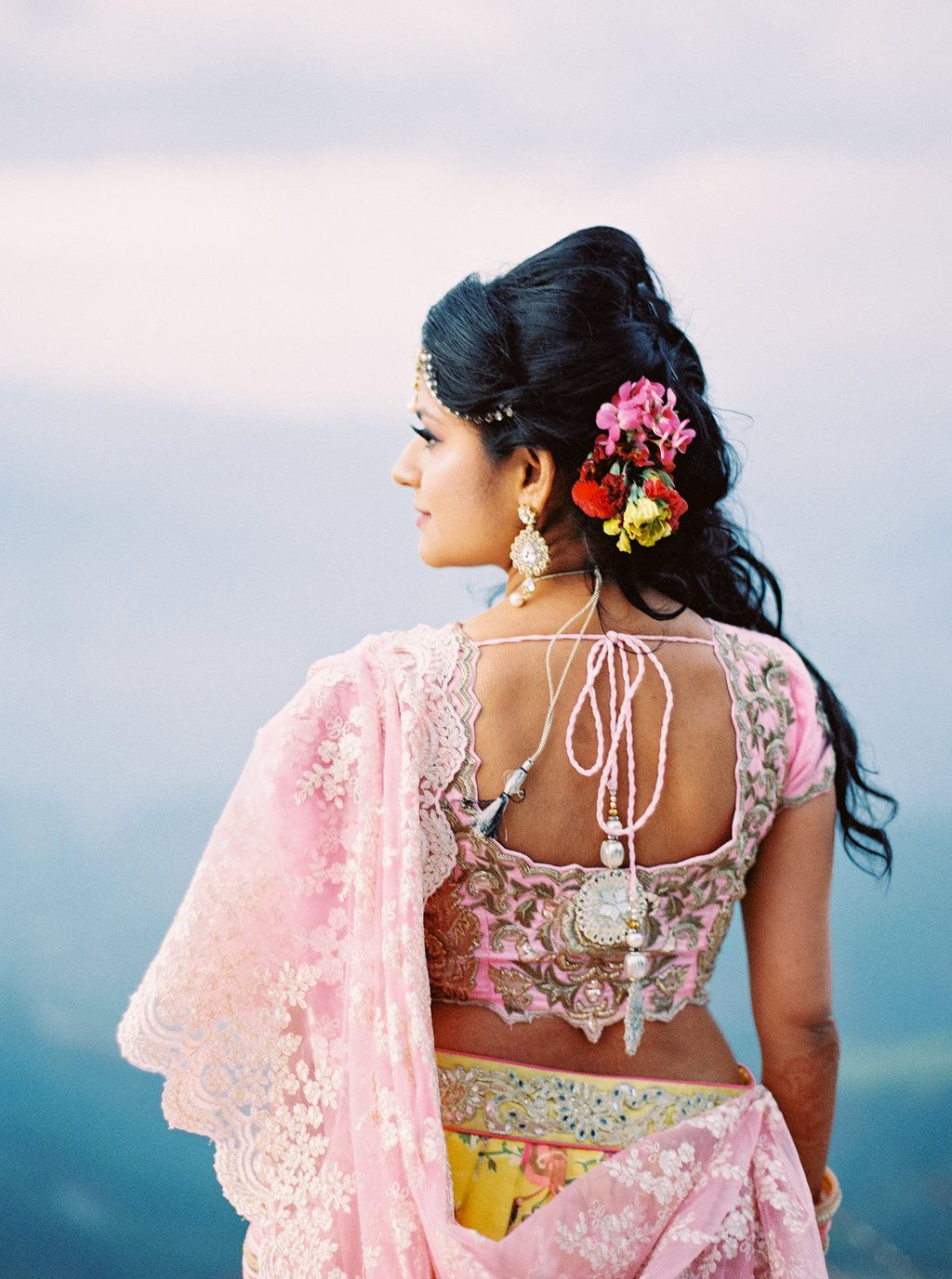 South asian wedding dresses  Endless Color in This MultiDay Indian Wedding  SOUTH ASIAN WEDDING