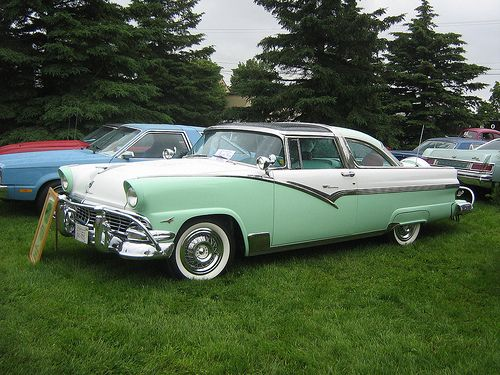 1956 Ford Crown Victoria Glass Top Ford Classic Cars Classic