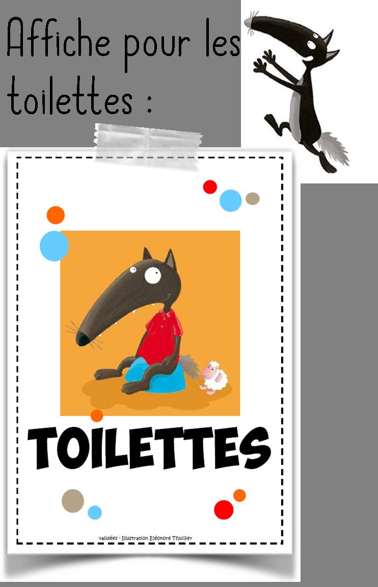 Gestion des toilettes avec loup classe pinterest for Garage ad le pin