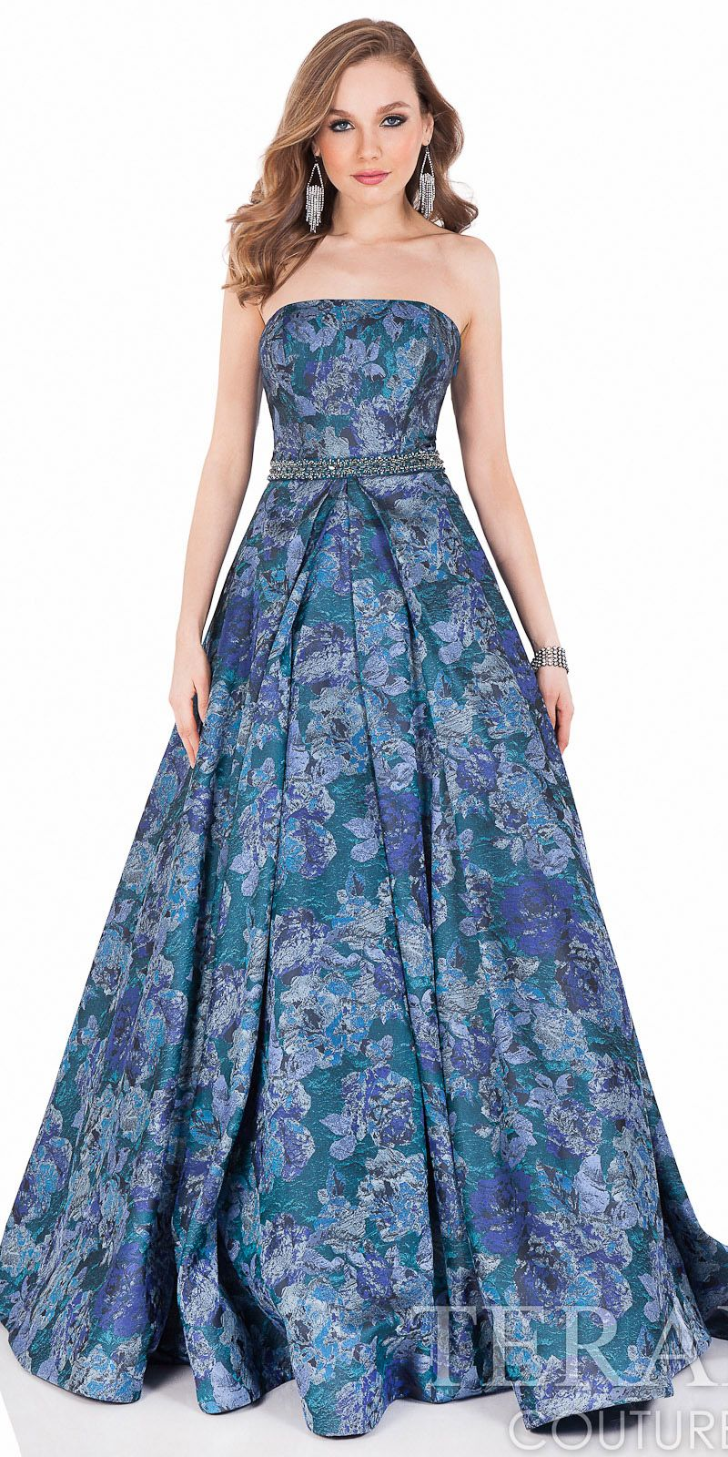 Triple Flat Bow Ball Gown by Terani Couture #edressme | NEW & NOW ...