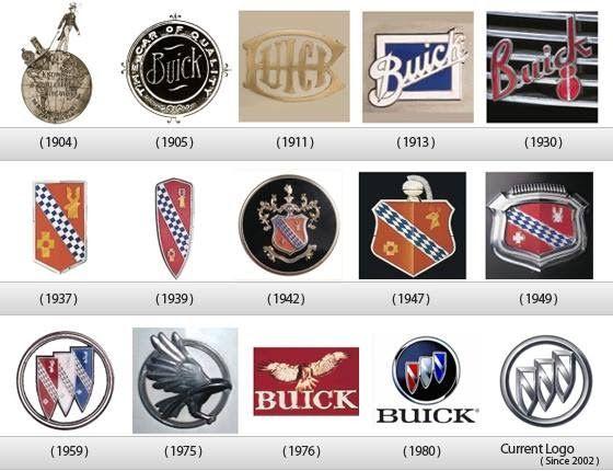 Ferguson Buick Gmc Logo Evolution Logo Branding Car Logos