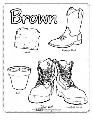 Color Brown Journal Colors Pinterest Coloring Pages Brown And