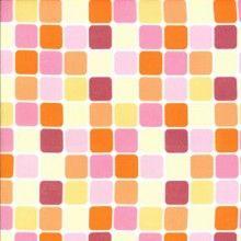 Sanctuary - Glass Tiles in Sherbert. Michael Miller Fabrics Products - fishskin fabrics