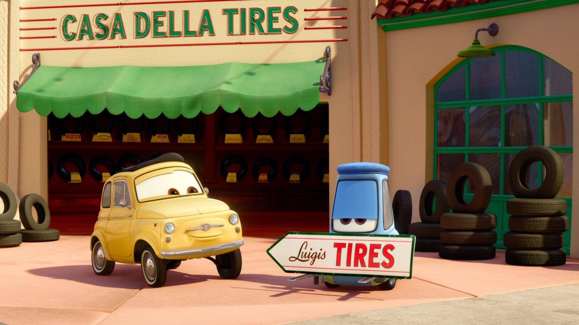 Watch Cars Toons Tales from Radiator Springs Pixar