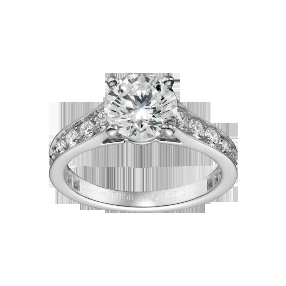 Cartier 1895 Engagement Ring Cartier Engagement Rings Pinterest