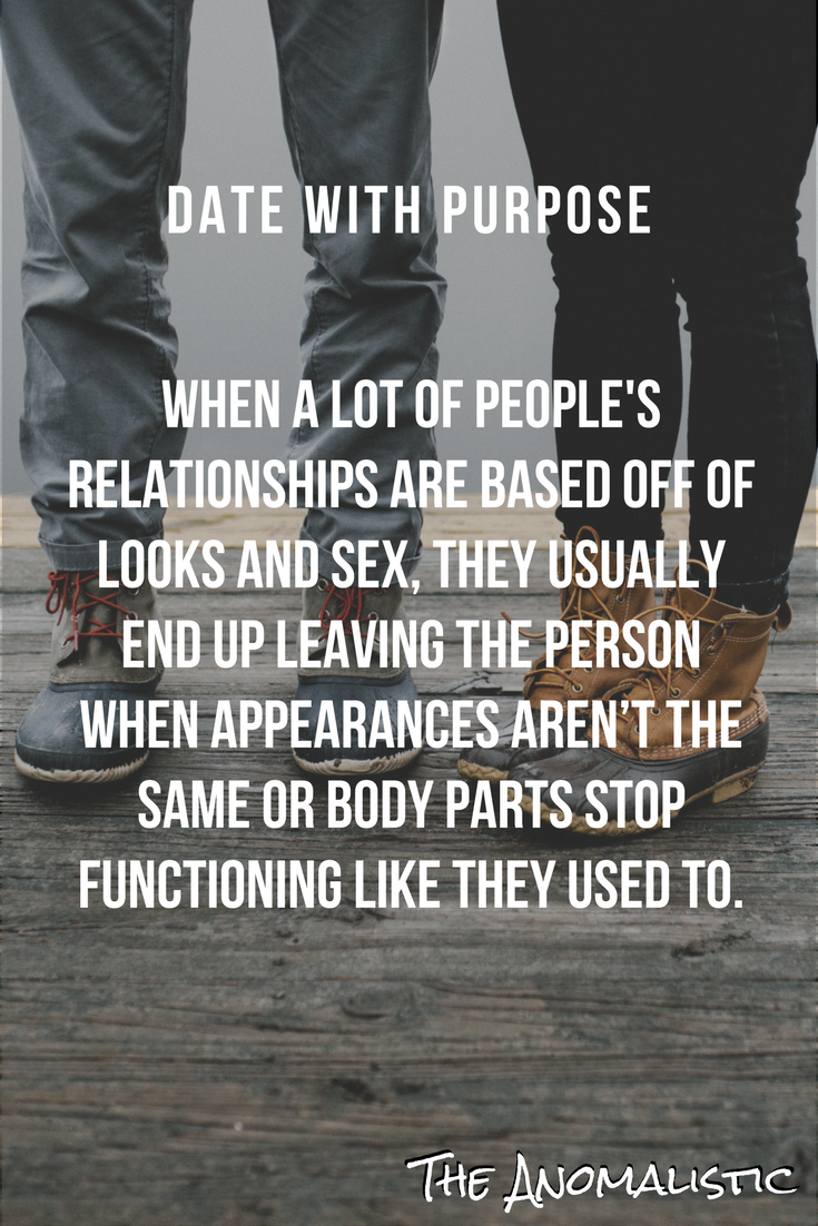 Dating with Purpose | The Best of The Anomalistic Blog