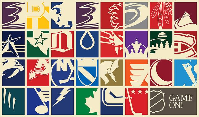 best loved 9fd1f b6c79 Game On! | Graphics | Hockey posters, Hockey logos, Nhl logos
