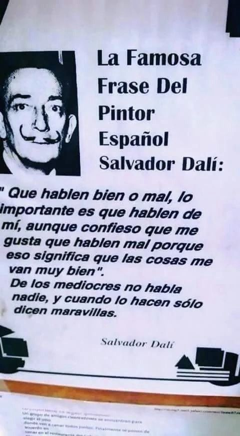 Pin By Vanessa Pérez On Frases Y Refranes Salvador Dali