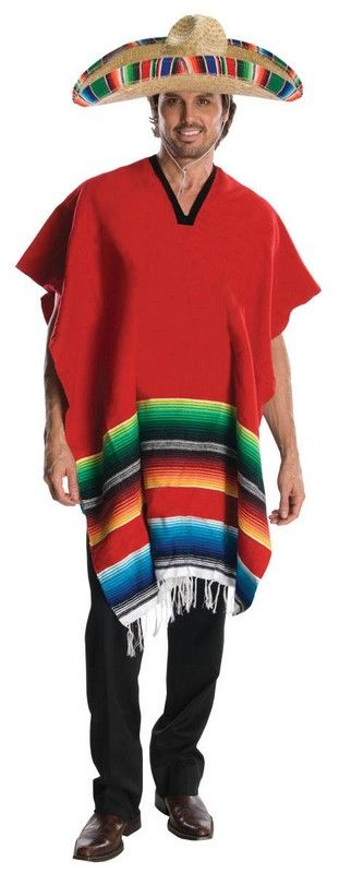 ed9446a0fc3b5 Mens Mexican Hombre Costume in 2019 | Fashion~Capes/Ponchos/Shawls ...
