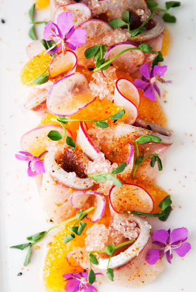 Hamachi Yellowtail Crudo Recipe Use Real Butter Japanese Noms In