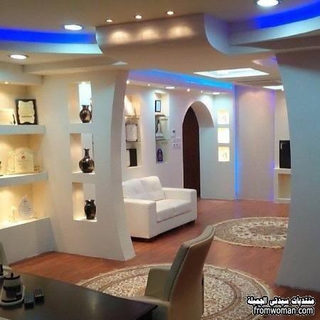 اشيك ديكورات جبسون بورد لشقق رائعة جبسون بورد 2016 Home Room Design Living Room Partition Design Ceiling Design Modern