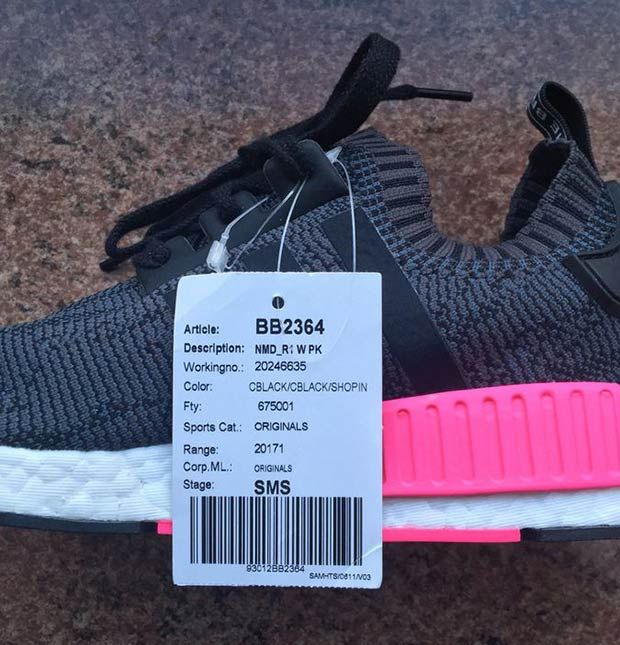 Today we get a first look at yet another all-new look for the adidas NMD R1  in a black and pink color combo. The upcoming all-new NMD for women  features a ... e4943cf63