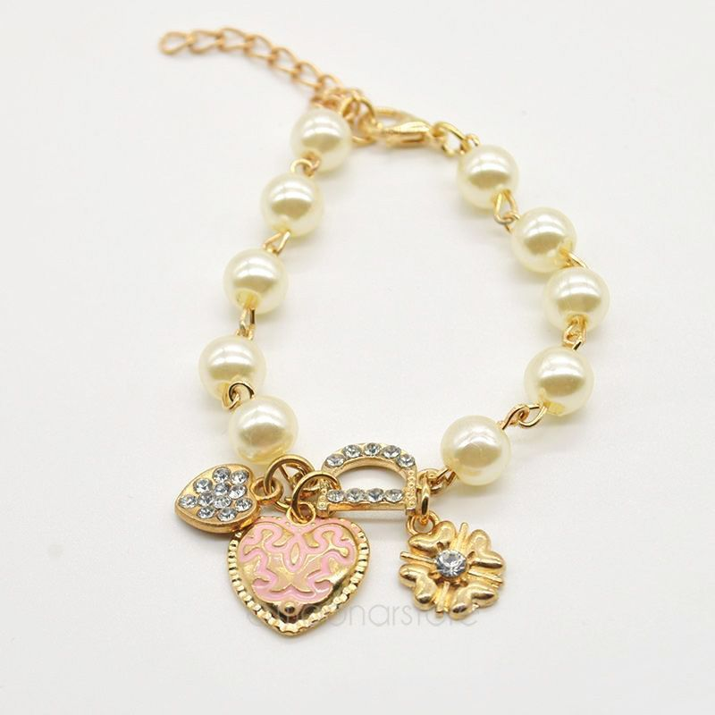 bracelet girls pearl - Buscar con Google   Pulsera   Pinterest