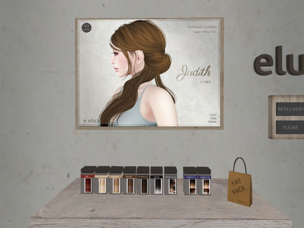 ELUA - hair/variety packs/fatpack, 300L each/450L each/1450L  http://seraphimsl.com/2016/01/25/free-yourself-at-uber/