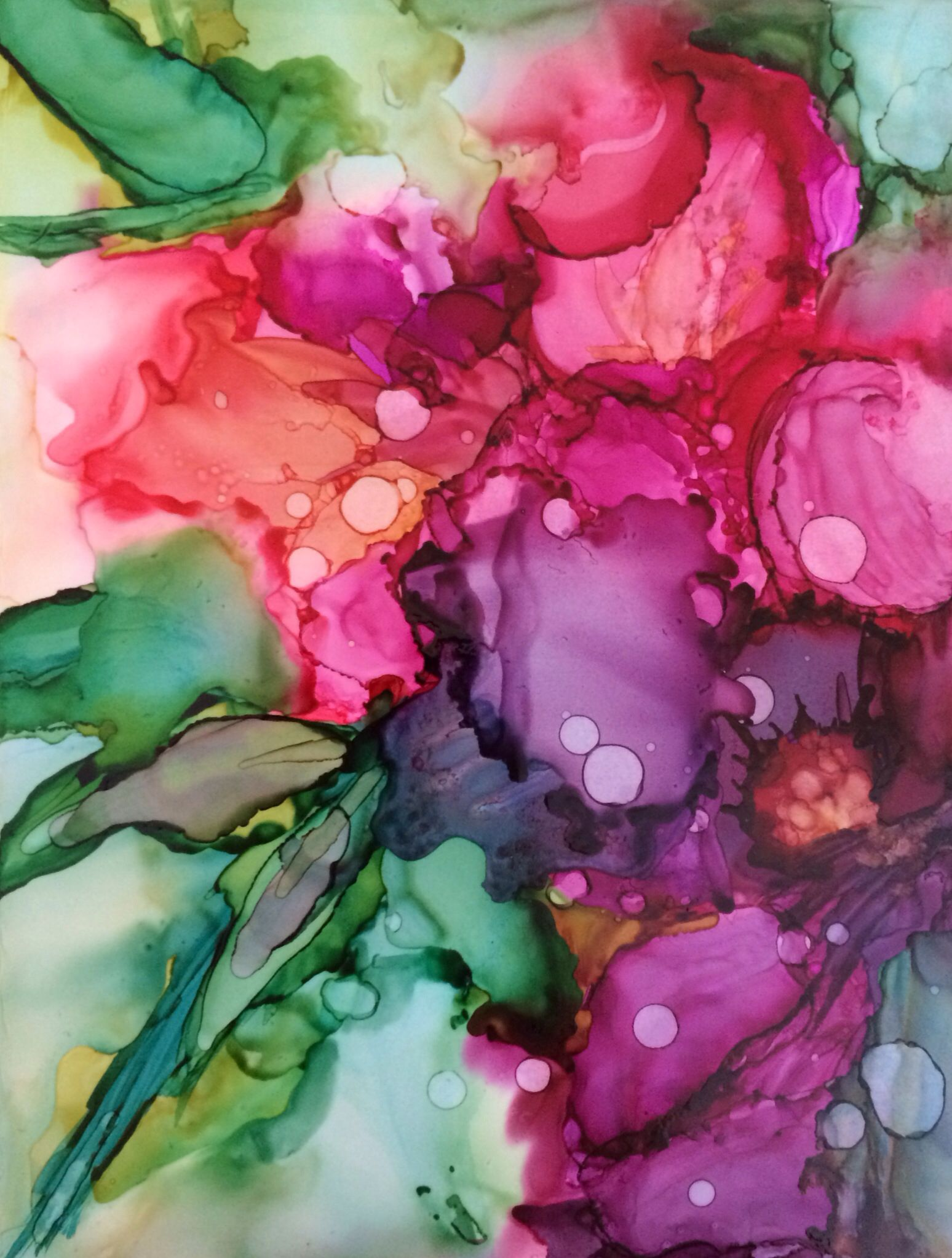 Watercolor artists names - Artist Name Pamella Radwan Medium Used Alcohol Ink Substrate Yupo Size 4 X 6 Artist Comments I Love Flowers Tried To Capture Their Beauty Using This