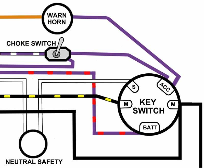 Evinrude Johnson Solenoids Switches Battery Cables Relays Mastertech Outboard Motor Parts Batt Switches Diagram