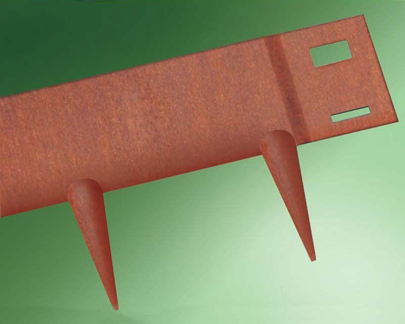 Flexible Garden Edging CorTen Steel  Everedge Pack of 5  1m x 125mm depth is part of Flexible garden Edging -