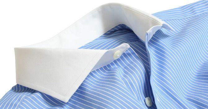 Custom Tailored Dress Shirts