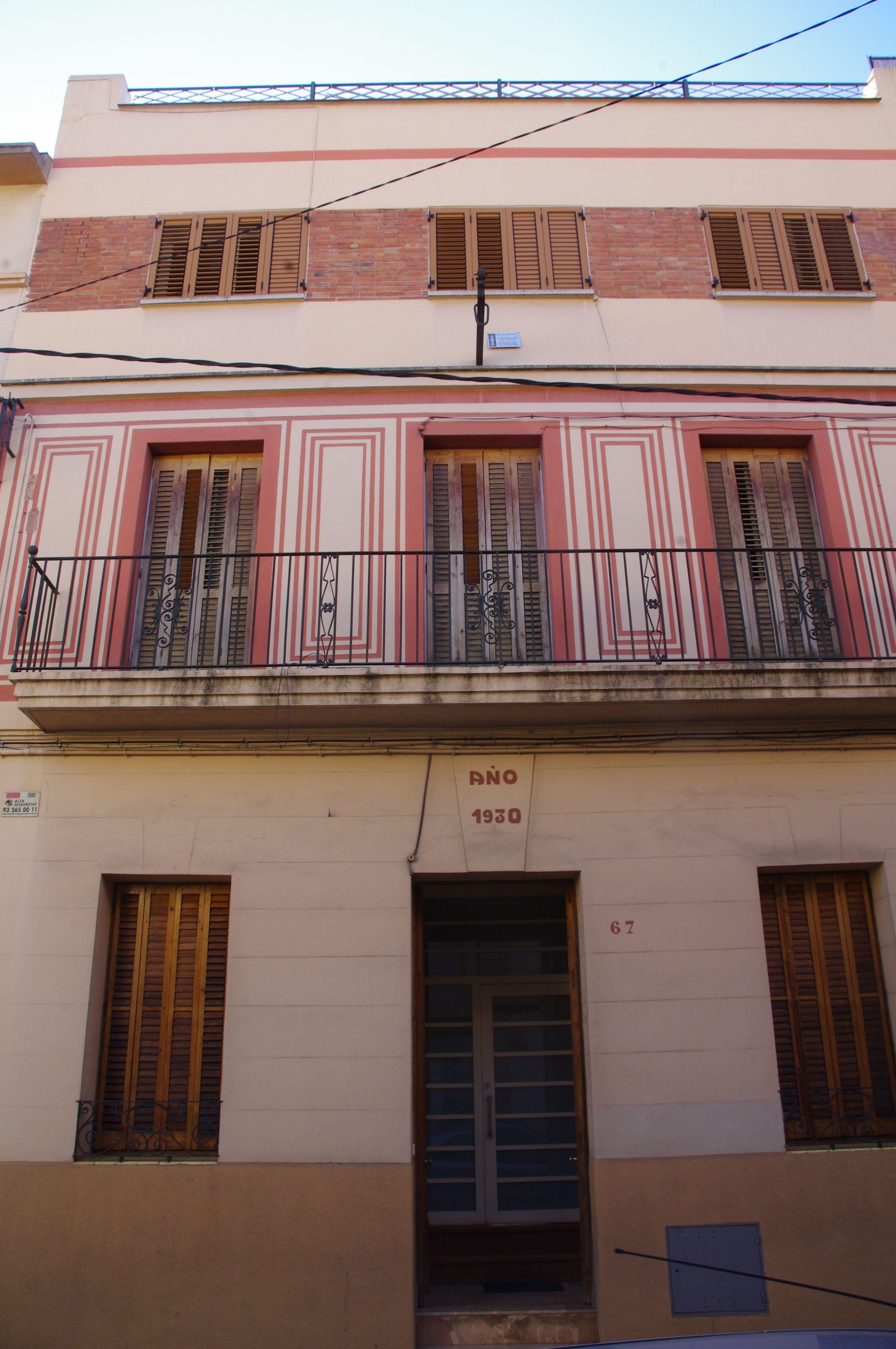 Ampliació de vivenda segons la llei d'habitatge de Franco C/Chapí, Horta