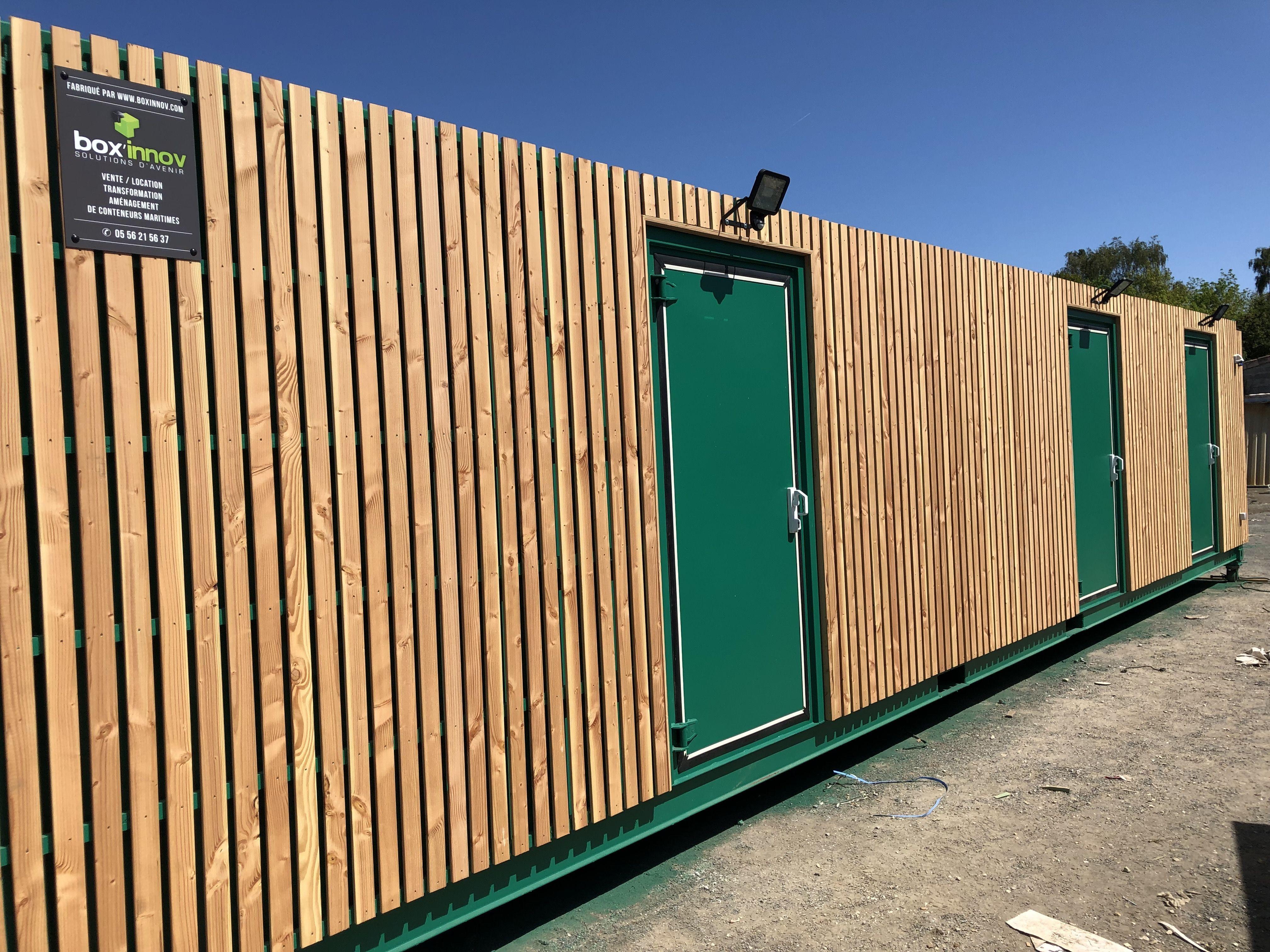Bardage Bois Container Maritme Bardage Bois Container Bardage