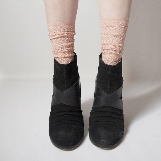 Summery Lace Socks