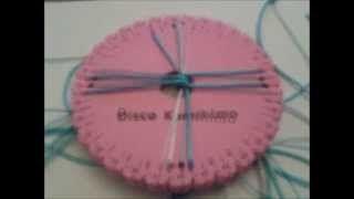 pulsera kumihimo cuadrado - YouTube