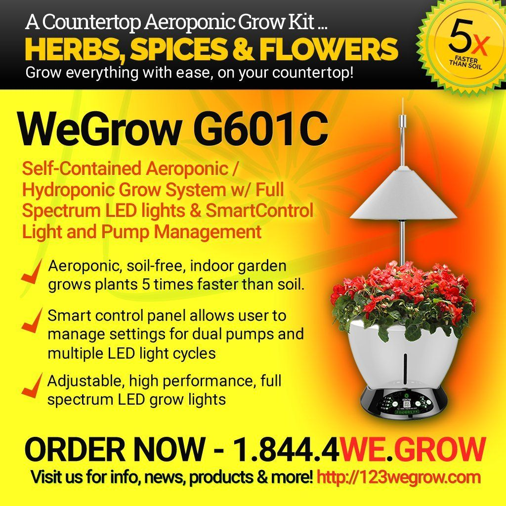 The Newly Released G601C Hydroponic Led Light Automatic 400 x 300
