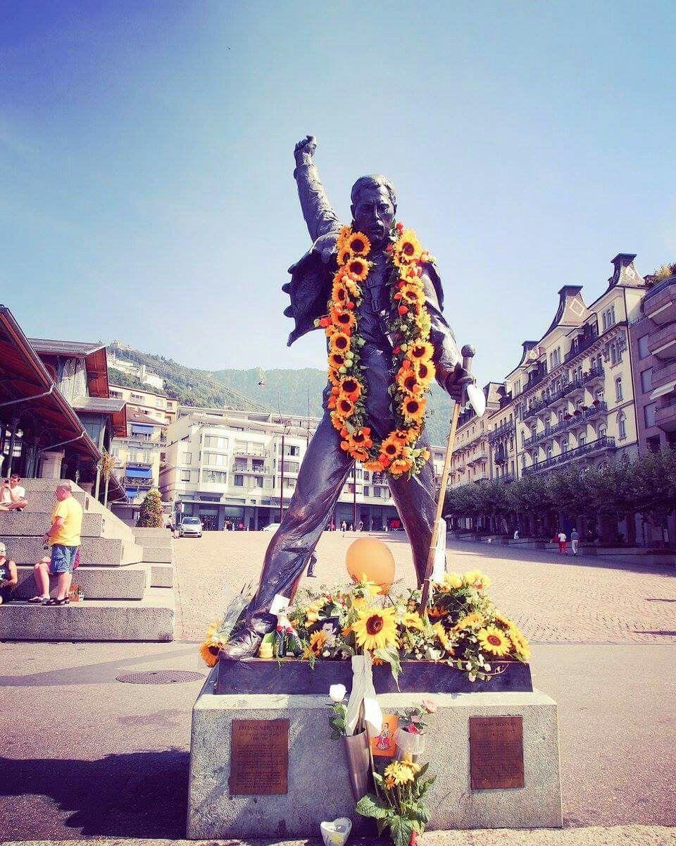 Freddie 's birthday celebration, Montreux