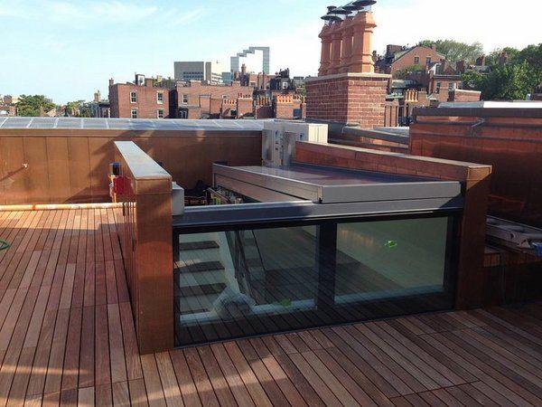 Roof Top Deck Roof Garden Vertical Structure