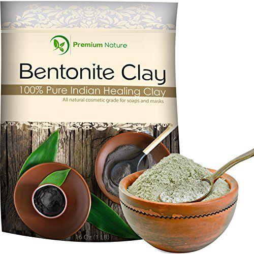 Indian Healing Bentonite Clay 16 oz by Premium Nature Pre... https://www.amazon.com/dp/B01GSF2OK4/ref=cm_sw_r_pi_dp_x_w6wdybBRBZ0WC