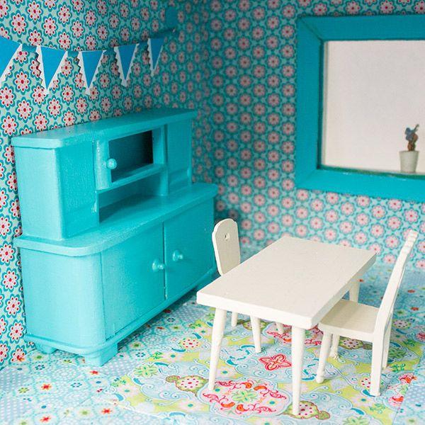 die k che diy blogger contest pinterest puppen haus und basteln. Black Bedroom Furniture Sets. Home Design Ideas