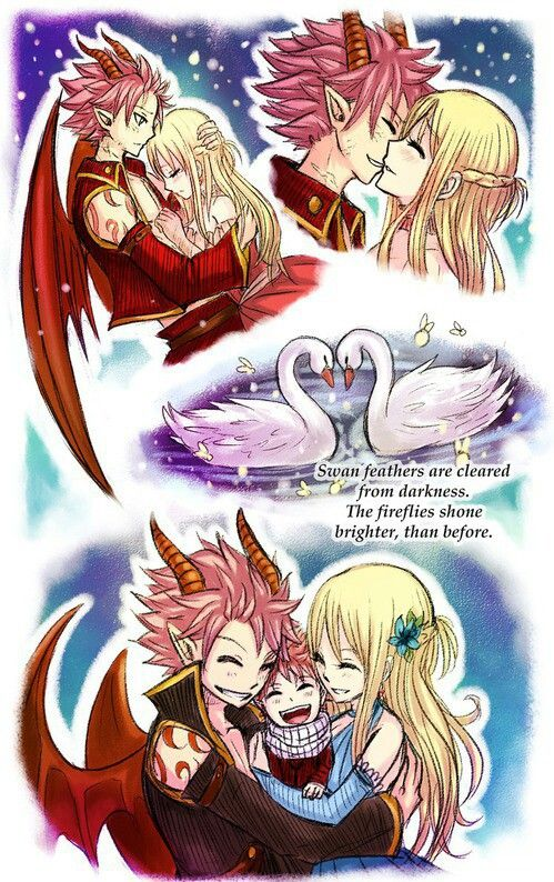 Natsu and Lucy by Leonstar