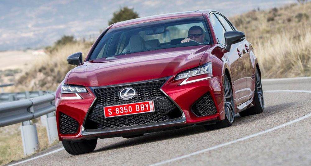 Video Auto Express Reviews the Lexus GS F New lexus