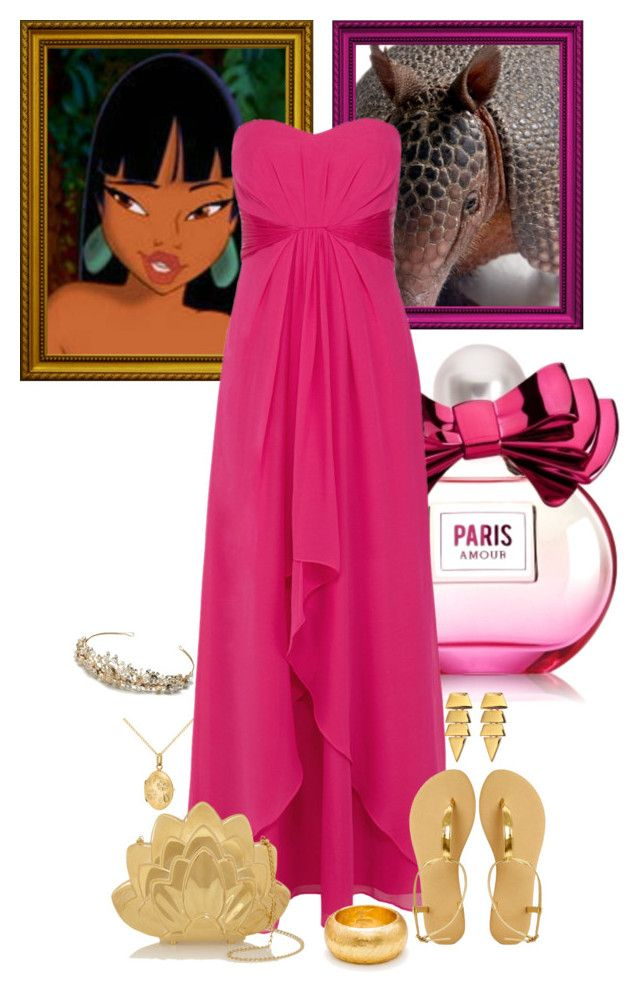 """Chel Prom"" by preppyandgirlie2001 ❤ liked on Polyvore featuring IBB, Coast, ASOS, Charlotte Olympia, Évocateur and Eddie Borgo"