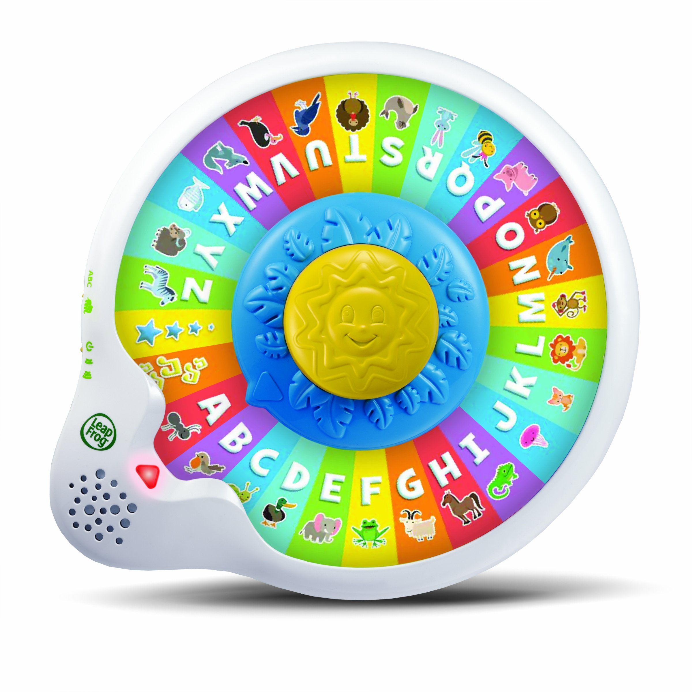 LeapFrog AlphaZoo Spinner Add braille to the letters to provide